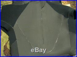 New Patagonia Men's Black XXL R3 Back Zip Full Wet Suit