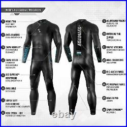 New with Tags Synergy Mens Triathlon wetsuit 3/2mm S3 Volution Full Sleeve USAT