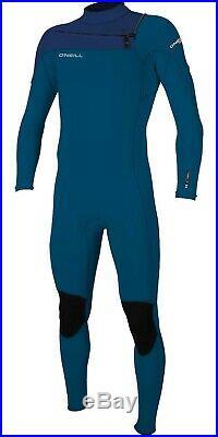 ONeill Mens Hammer 3/2 Chest Zip Wetsuit Full Length Wetsuit Blue / Navy 2020