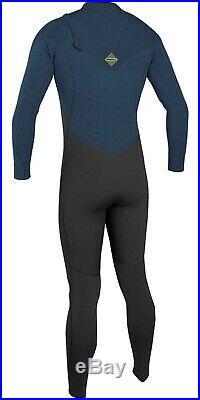 ONeill Mens Wetsuit Zipless Hyperfreak 3/2 Full Length Wetsuit 2020 BLK ABYSS