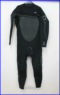 O'NEILL Men's Psycho Tech Chest Zip 4/3mm Full Wetsuit Size LS Large Short