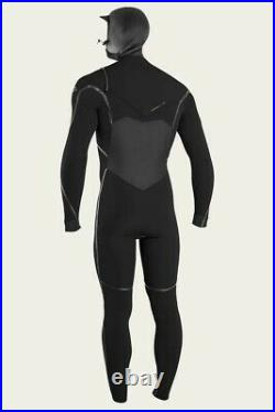 O'NEILL PSYCHO TECH WETSUIT 5.5/4MM CHEST ZIP FULL WETSUIT With HOOD MENS SMALL