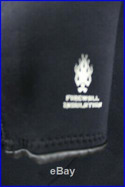 O'Neil Men 2 piece Farmer John Full Zip Scuba Wetsuit Black 3.0 MM Size 2 XL