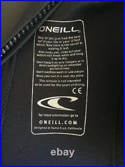 O'Neill Back Zip Full Wetsuit RN 77131 style 4211 size medium EU 50