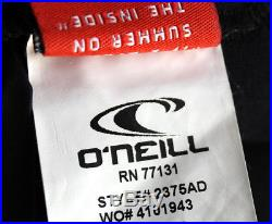 O'Neill Dive Wetsuits Mens 7m J-type Fluid Seam Weld Full Suit With Hood Small NEW