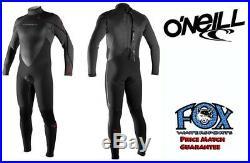 O'Neill Heat 3/4-Zip FSW 4/3 Full Wetsuit Men's MD (FREE SHIPPING!)