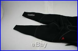 O'Neill Men's Dive J-Type 7mm Back Zip Full Wetsuit w Hood Black Large Short