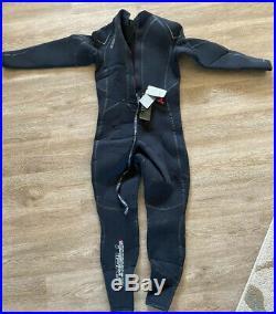 O'Neill Men's Dive Sector 5mm Back Zip Full Wetsuit Black Large Short