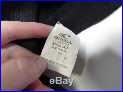 O'Neill Men's Dive Sector 7mm Back Zip Full Wetsuit, Blk, L, 3993-Black-Large