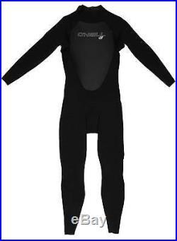 O'Neill Men's Epic 3/2mm Back Zip Full Wetsuit Black New