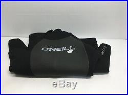 O'Neill Men's Epic 4/3mm Back Zip Full Wetsuit Black/Grey/Black Medium Short