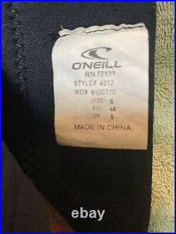 O'Neill Men's Epic 4/3mm Back Zip Full Wetsuit Size Small