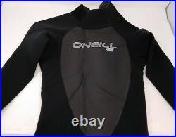 O'Neill Men's Epic 4/3mm Back Zip Full Wetsuit- Small, Black
