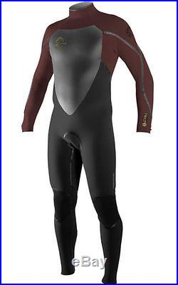 O'Neill Men's Heat 3Q Zip 3/2mm FSW Full Wetsuit Black Myers Size LT NWT