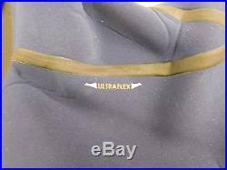 O'Neill Men's Heat 3Q Zip 3/2mm FSW Full Wetsuit Black Navy Size L Lg Large NWT