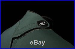 O'Neill Men's Heat 3/2mm Back Zip Full Wetsuit Black XX-Large Short