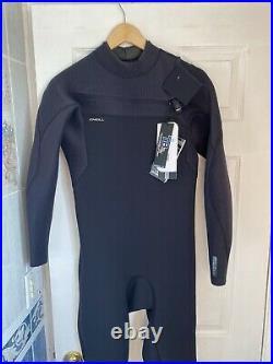 O'Neill Men's Hyperfreak 3/2 mm Chestzip Full Wetsuit Black Large