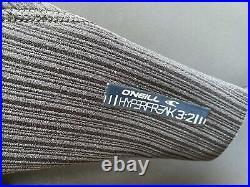 O'Neill Men's Hyperfreak 3/2 mm Zipless Full Wetsuit Black/grey Medium Tall
