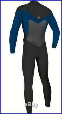 O'Neill ORIGINAL Style #5011 Mens 3/2MM Chest Zip Full Wetsuit Medium Black NEW