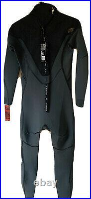 O'Neill Psycho One 3/2 Back Zip Mens Full Length Wetsuit Graph Jet Camo Medium