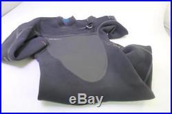 O'Neill Pyrotech FZ 4/3 Full Wetsuit Black/Black/Black Medium Short with F. U. Z. E