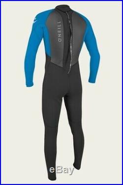 O'Neill Reactor 3/2mm Full Wetsuit Men's Black/Ocean Large