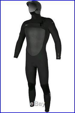 O'Neill Superfreak F. U. Z. E. Zip 5/4 with Hood Full Wetsuit Mens XL