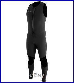 O'Neill Wetsuits Men's Reactor Ii 2mm Front Zip Sleeveless Full Wetsuit, Black