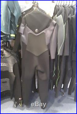 O'Neill mens original FZ 5/4mm Full length Wetsuit black graphite front zip M L