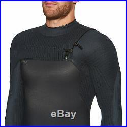 O'neill Hyperfreak 4/3+ Chest Zip Full Mens Surf Gear Wetsuit Black All Sizes