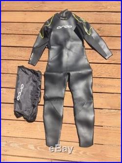 Orca Equip Mens Full Triathlon Wetsuit Equip Full Suit Size 10