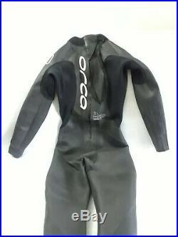 Orca Mens Full Triathlon Wetsuit Size 5 (Small) S1 Speedsuit Full Sleeve