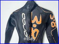 Orca Mens Full Triathlon Wetsuit Size 7 (Large) 3.8 Full Sleeve Retail $599