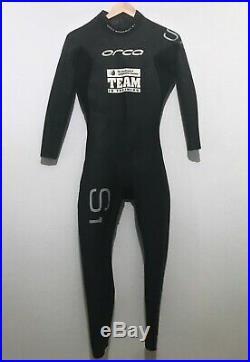 Orca Mens Full Triathlon Wetsuit Size 8 (Large) S1 Speedsuit Full Sleeve