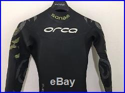 Orca Mens Full Triathlon Wetsuit Sonar Full Suit Size 6 Retail $450