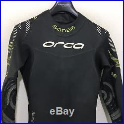 Orca Mens Full Triathlon Wetsuit Sonar Full Suit Size 8 Retail $450