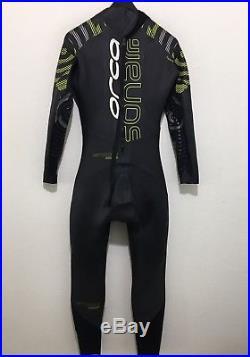 Orca Mens Full Triathlon Wetsuit Sonar Full Suit Size MT Retail $450