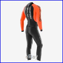 Orca Openwater Full Sleeve Mens Wetsuit Black/Orange/White