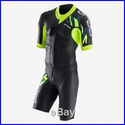 Orca RS1 Swim Run Full Sleeve Mens Wetsuit Black/YellowithBlue