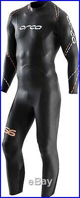 Orca S6 Full Sleeve Mens Wetsuit Black
