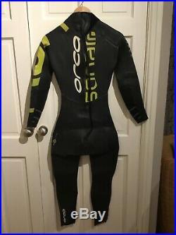 Orca Sonar Mens full sleeve triathlon wetsuit (Medium Tall)