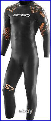 Orca Tri S7 Fullsleeve Mens Wetsuit Black Yamamoto Flexible Neoprene Triathlon