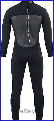 Osprey Men's 3 mm Full Length Summer Wetsuit Origin, Black, X-Large