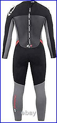 Osprey Men's Full Length 5 mm Winter Wetsuit, Red, XS
