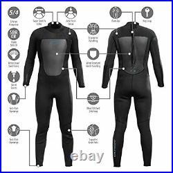 Osprey Men's Full Length 5mm Triathlon Wetsuit, Winter Wetsuit, Adult Neoprene