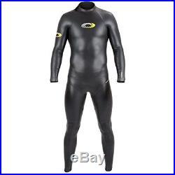 Osprey Men's Nylon Full Length Triathlon Wetsuit, Black, Large Long