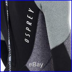 Osprey Zero Men's 5mm Winter Wetsuit Full Length Neoprene Grey Wet Suit 5 4 mm