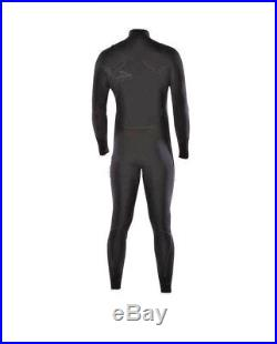 PATAGONIA Mens Wetsuit R1 Front Zip Full Suit Black Size XL 30% OFF