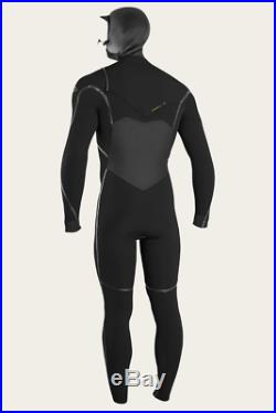 PSYCHO TECH 5.5/4MM CHEST ZIP FULL WithHOOD WETSUIT Size Medium