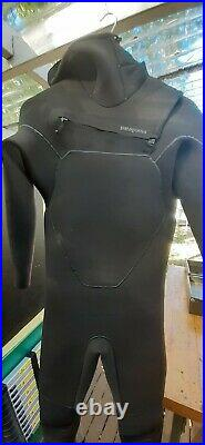 Patagonia M's R4 Yulex Hooded Full WetSuit Size LS Great Condition